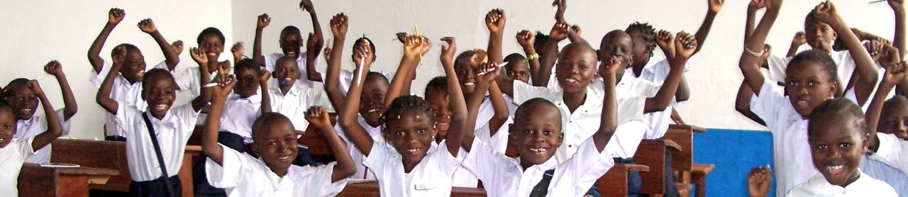 En Classe helping to build school in Congo